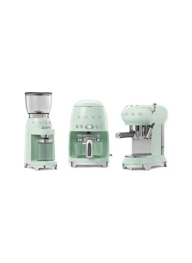 Smeg Pastel Yeşil Kahve Öğütme Makinası Yeşil